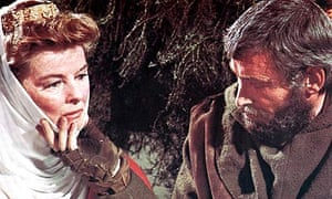 Katharine Hepburn and Peter O'Toole in The Lion in Winter (1968)