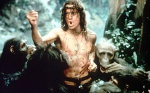 Simon Channing Williams: Christopher Lambert in Greystoke: The Legend of Tarzan (1984)