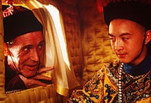 Peter O'Toole and Wu Tao in The Last Emperor (1987)