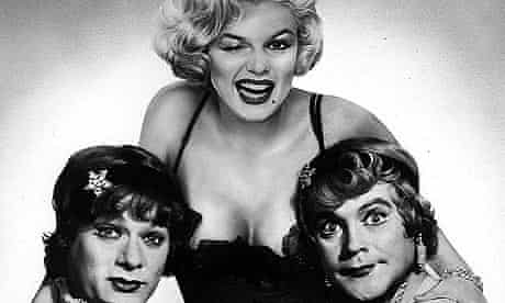 Tony Curtis, Marilyn Monroe and Jack Lemmon in Some Like It Hot (1959)