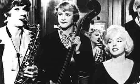 Tony Curtis, Jack Lemmon and Marilyn Monroe in Some Like it Hot (1959)