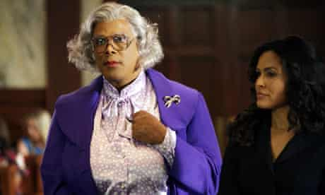 Tyler Perry and Ion Overman in the film Madea Goes To Jail