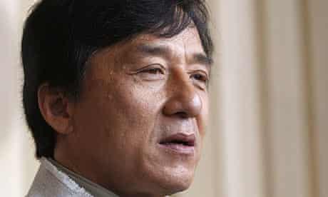 Jackie Chan, February 2009