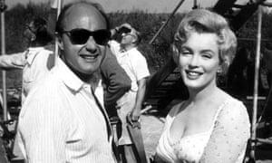 Jack Cardiff and Marilyn Monroe
