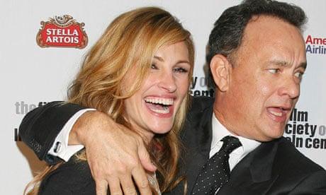Julia Roberts demonstrates how Tom Hanks can make people too