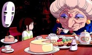Scene from Spirited Away (2001)