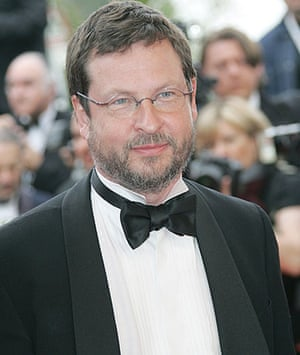 Cannes directors 2009: Lars von Trier at the 2005 Cannes film festival