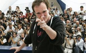 Cannes directors 2009: Quentin Tarantino at the Cannes film festival 2007