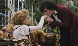 Rupert Friend and Michelle Pfeiffer in Cheri