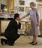 Michael Sheen and Helen Mirren in The Queen (2006)