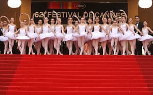 Cannes 2009: Up premiere: Ballerinas at the premiere of Up at the 62nd Cannes film festival