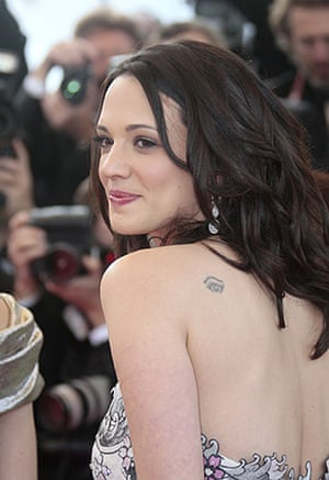 Cannes 2009: Up premiere: Jury member Asia Argento at the 2009 Cannes film festival