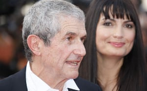 Cannes 2009: Up premiere: French director Claude Lelouch at the opening of the Cannes film festival