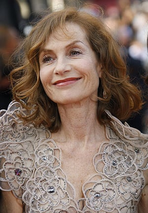 Cannes 2009: Up premiere: Isabelle Huppert at the opening ceremony of the Cannes film festival