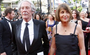 Cannes 2009: Up premiere: Jean Rochefort and French culture minister Christine Albanel in Cannes