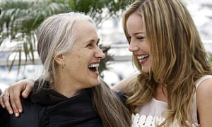 Jane Campion with Bright Star actor Abbie Cornish at the Cannes film festival