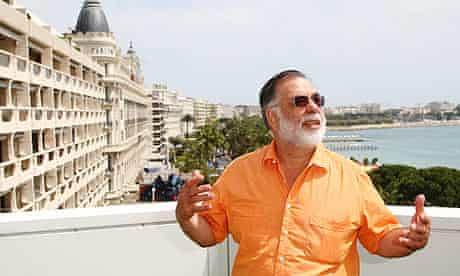 Francis Ford Coppola at the 2009 Cannes film festival to introduce Tetro
