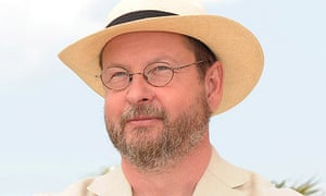 Lars von Trier at the 2009 Cannes film festival with Antichrist