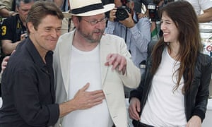 Lars von Trier with Charlotte Gainsbourg and Willem Dafoe unveil Antichrist at Cannes film festival