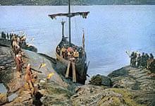 Scene from The Vikings (1958)