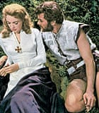 Tony Curtis and Janet Leigh in The Vikings (1958)