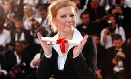 Director Andrea Arnold, winner of the Jury Prize for Fish Tank at Palm d'Or Award Ceremony