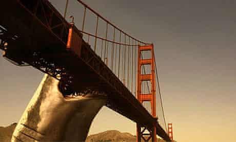 Scene from Mega Shark Vs Giant Octopus