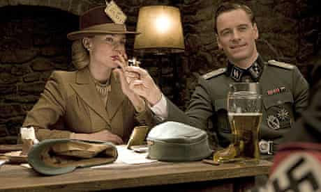 Diane Kruger and Michael Fassbender in Inglourious Basterds (2009)