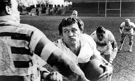 Richard Harris in a scene from This Sporting Life (1963)