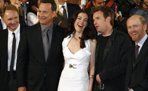 Angels & Demons premiere: Dan Brown, Tom Hanks, Ayelet Zurer, Ewan McGregor and Ron Howard