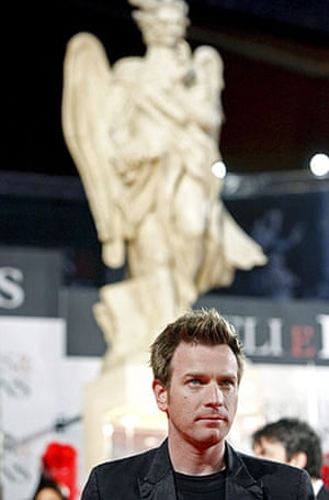 Angels & Demons premiere: Ewan McGregor at the world premiere of Angels & Demons in Rome