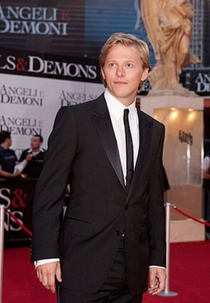 Angels & Demons premiere: Thure Lindhardt at the world premiere of Angels & Demons in Rome