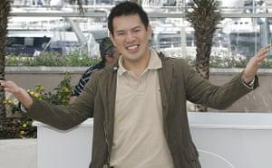 Filipino director Brillante Mendoza at the 2008 Cannes film festival