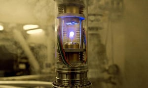 A canister of antimatter from Angels & Demons