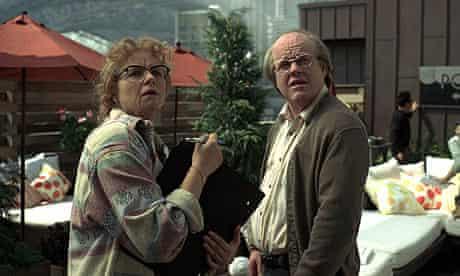 Samantha Morton and Philip Seymour Hoffman in Synecdoche, New York
