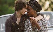 James McAvoy and Kerry Washington in The Last King of Scotland (2009)