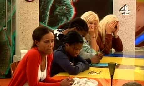 Big Brother 10 (2009). Five of the housemates looking tired