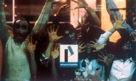 Crowd scene from Dawn of the Dead (1978)