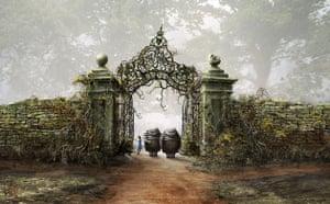 Tim Burton's Alice in Wonderland - concept art