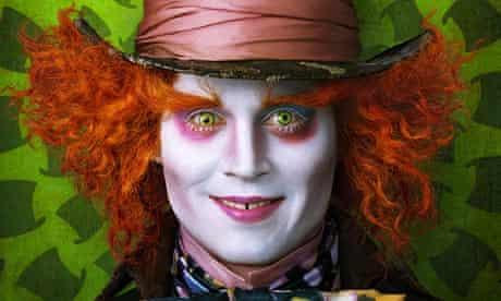 Tim Burton's Alice in Wonderland - concept art. Johnny Depp as the Mad Hatter