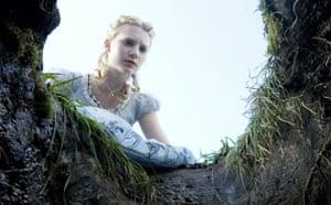 Mia Wasikowska as Alice in Alice in Wonderland
