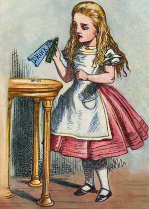 Alice in Wonderland: Alice with the Magic Bottle