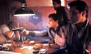 Joe Pesci, Robert De Niro, Ray Liotta in a still from the film Goodfellas