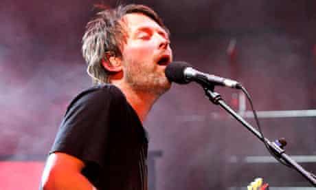 Radiohead's Thom Yorke perform live for BBC Radio 2 on Tuesday 1 April