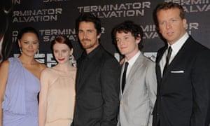 McG at the Terminator Salvation premiere in Paris