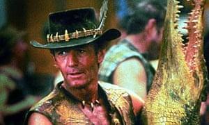Scene from Crocodile Dundee (1986)