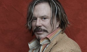 Mickey Rourke, photographed in November 2008