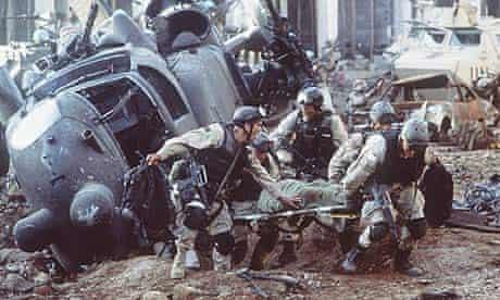 Scene from Black Hawk Down