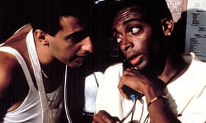 John Turturro and Spike Lee in Do the Right Thing (1989)