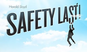 TCM poster for Harold Lloyd's Safety Last!